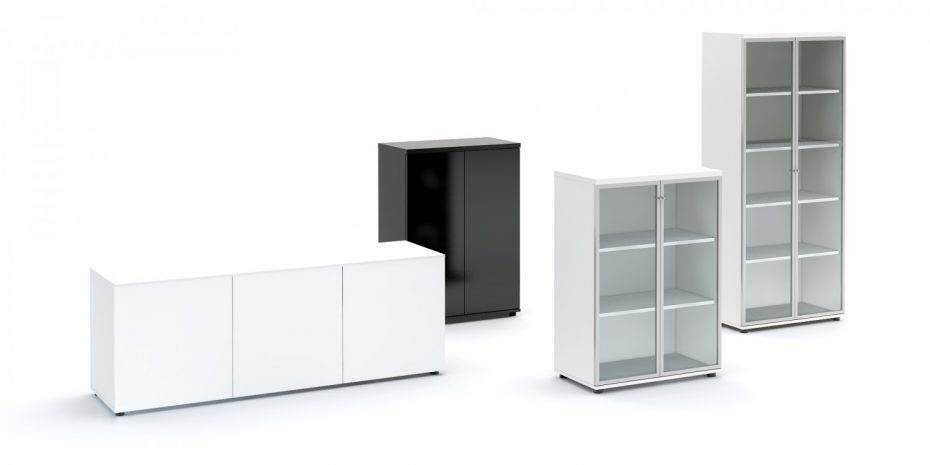 storage solutions by Bracken Office Interiors