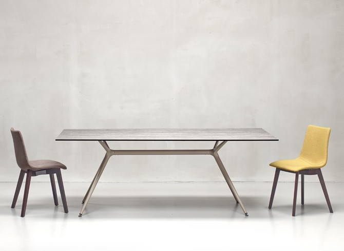 metropolis xl italian designer commercial table