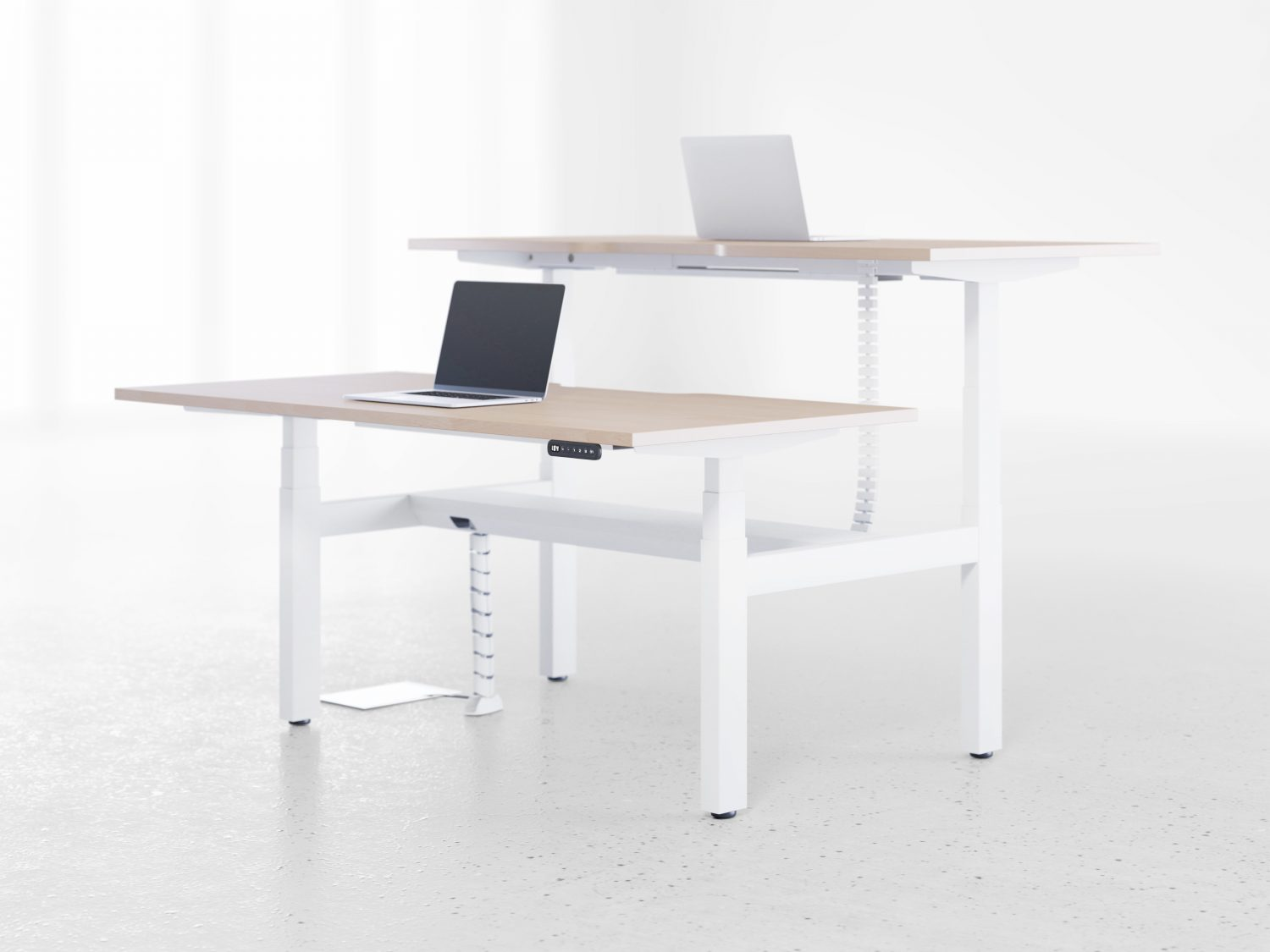 Leap Electric Height Adjustable Sit-Stand Bench