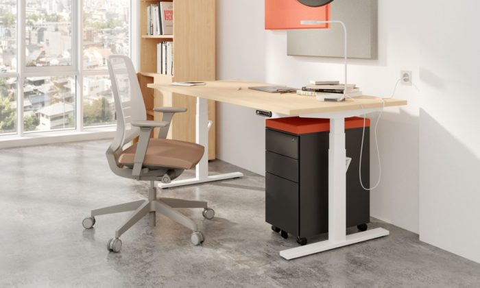 home office sit stand desks