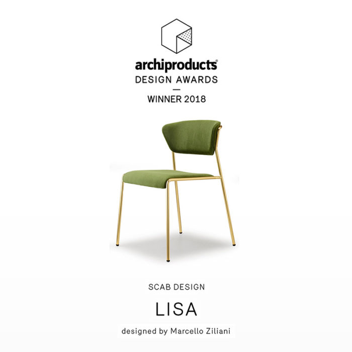 designer lisa chair from Italy
