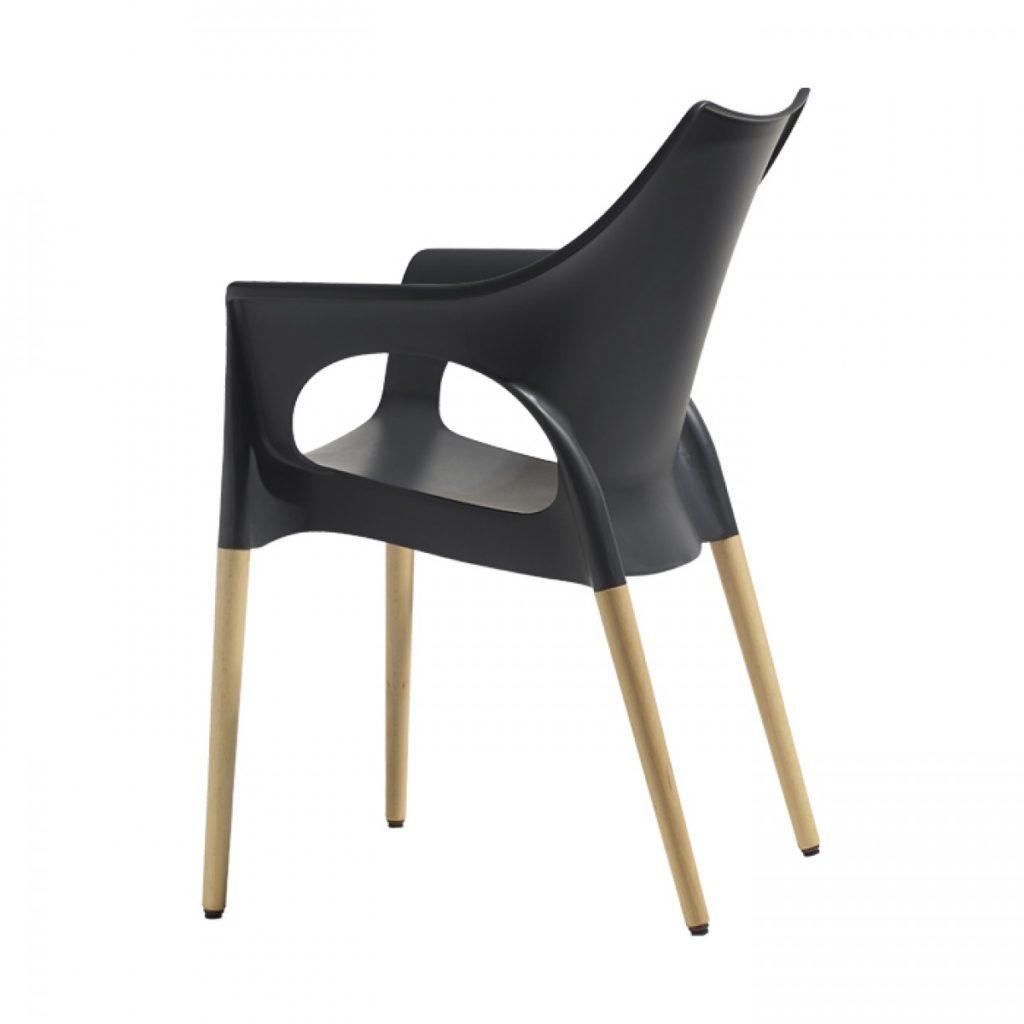 natural ola designer chair