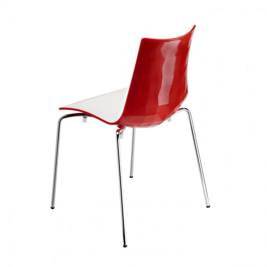 zebra bicolore commercial chair
