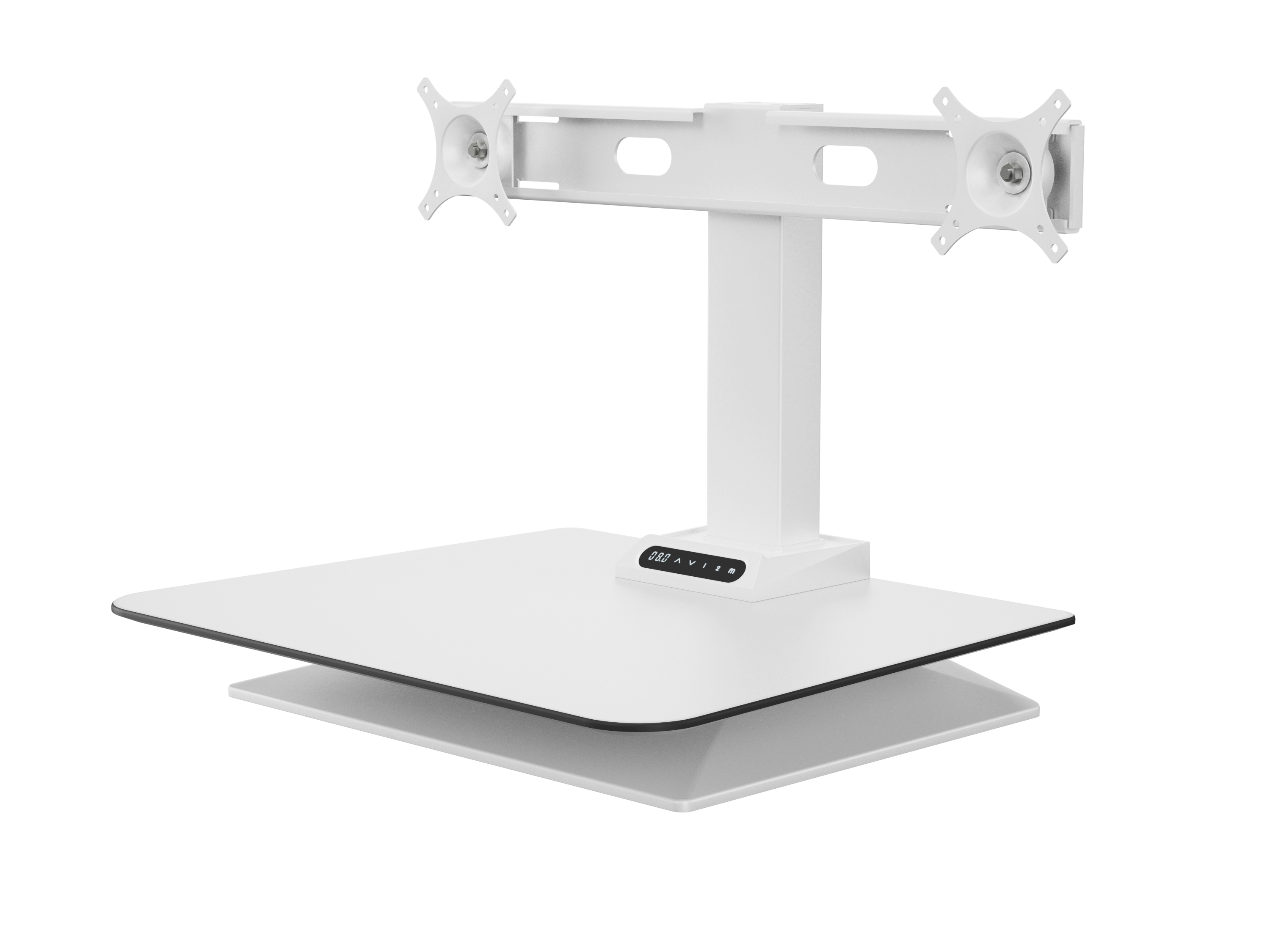 leap desk converter double monitor
