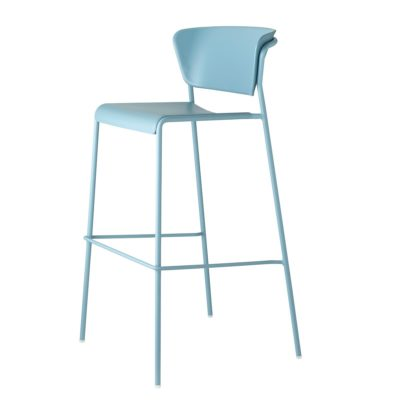 lisa technopolymer bar stool