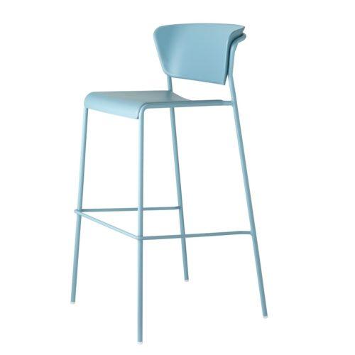 lisa technopolymer bar stool