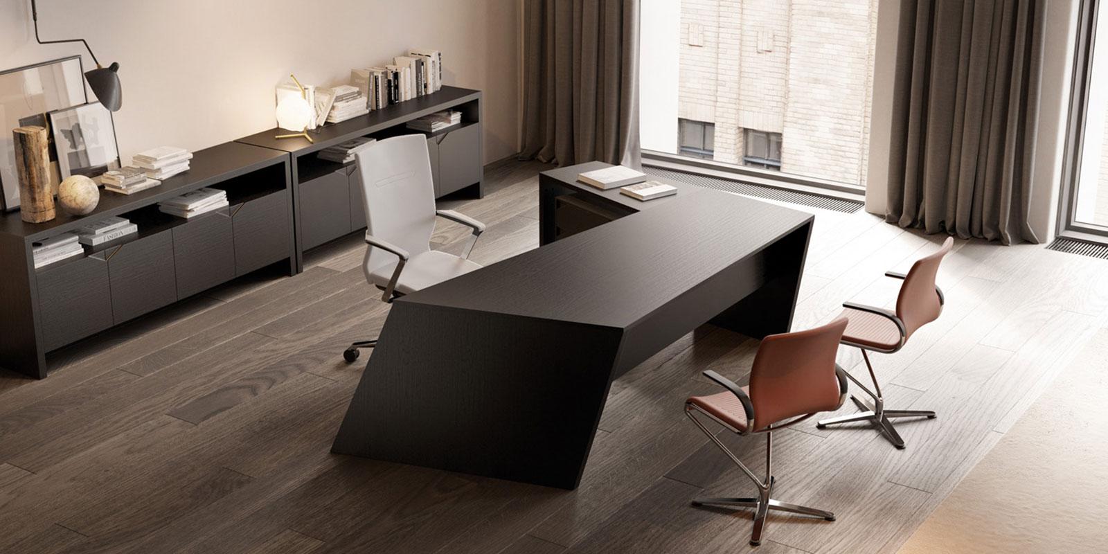 origami executive desk