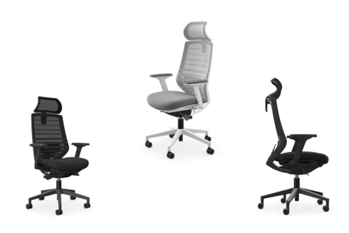 X.77 Mesh Office Chair + Head Rest
