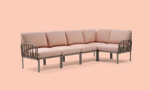 Komodo 5 by Nardi Italy outdoor garden sofa outdoor furniture ireland